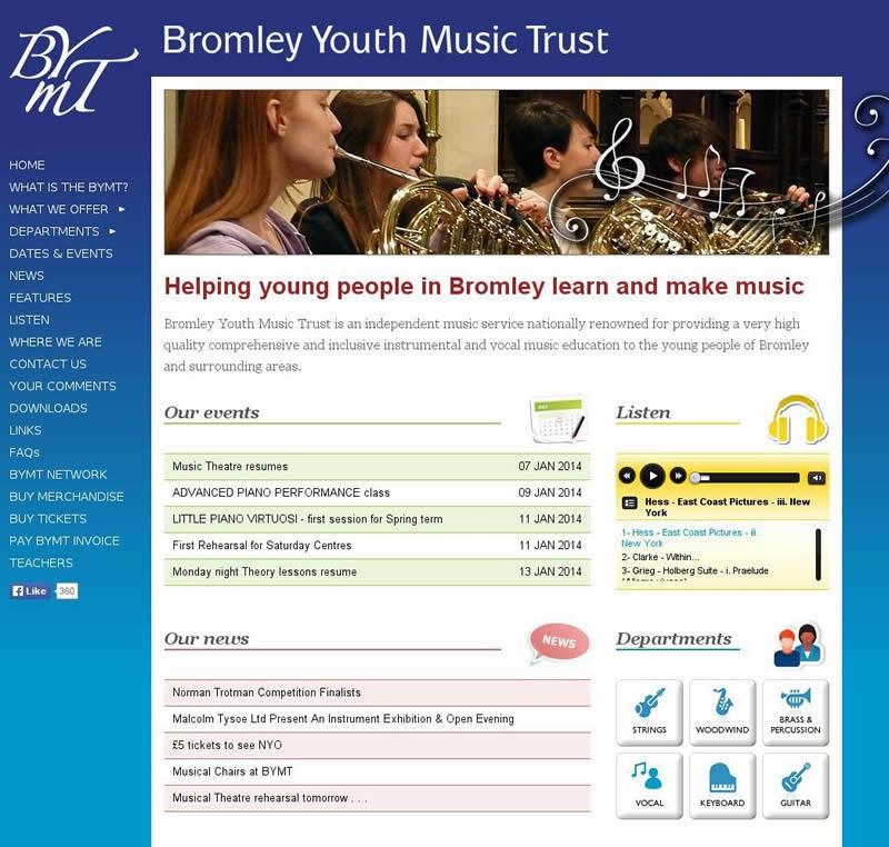 BYMT website 2012